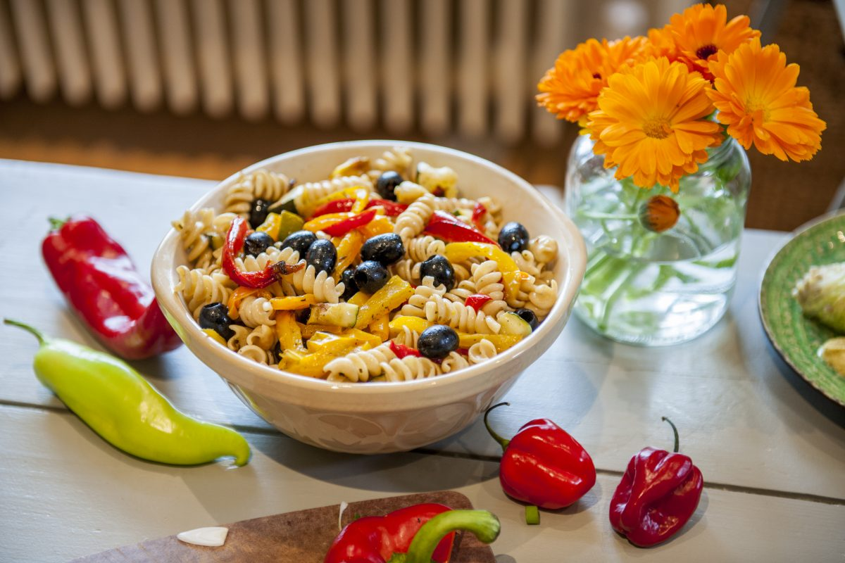 Pasta & Pepper Salad
