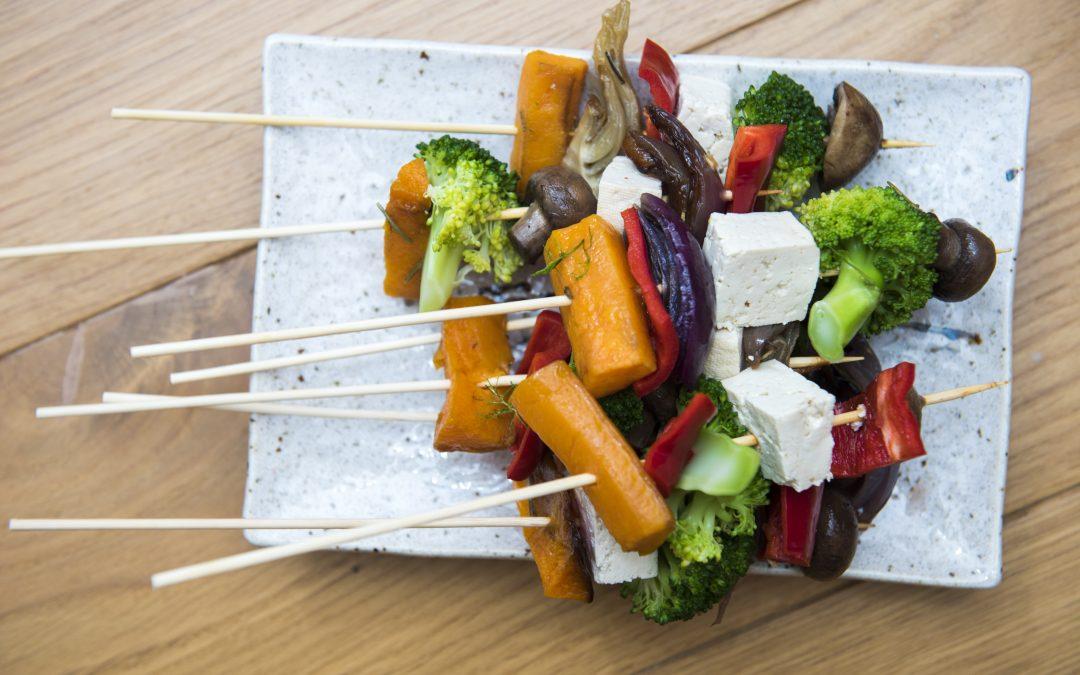 Tofu & Vegetable Kebabs
