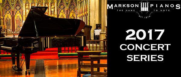 25 Oct 2017   Markson Pianos Concert Series: Lola Perrin